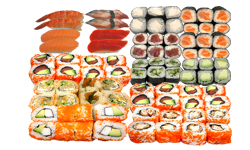 Sushi Menü 13 for 4
