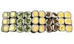 Sushi Menü 16 (vegetarisch)