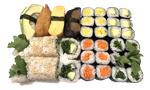 Sushi Menü 18 (vegetarisch)