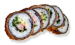 S95. Spicy Ebi Age Roll